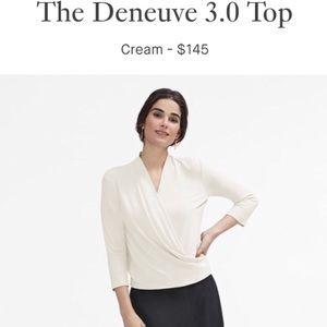 🆕 mm.lafleur—The Deneuve 3.0 Top in Cream